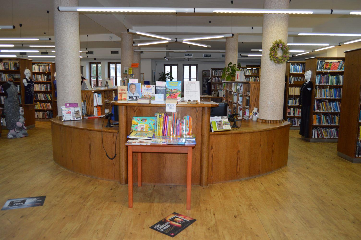 Vítáme Vás v knihovně