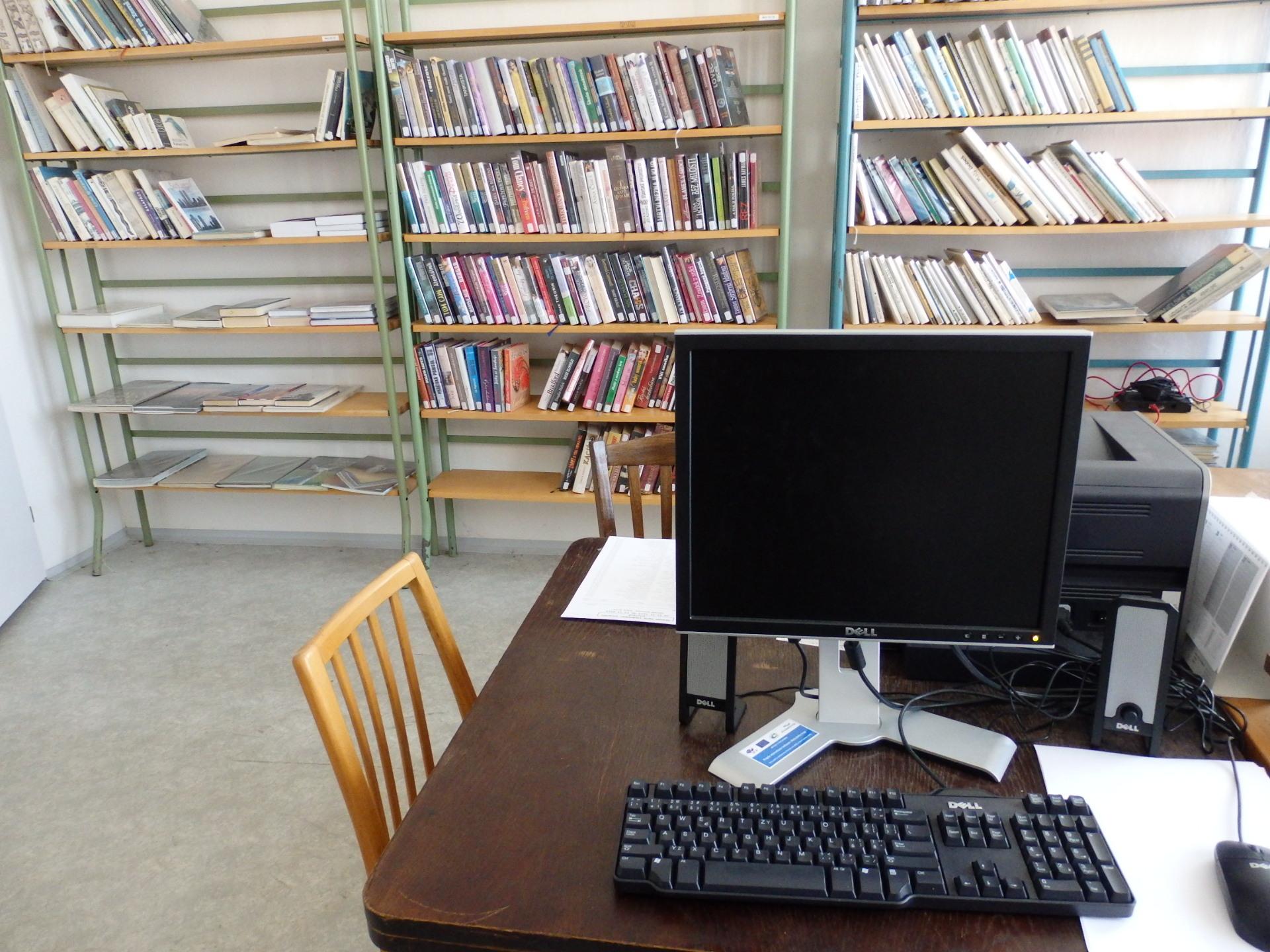Pobočky knihovny