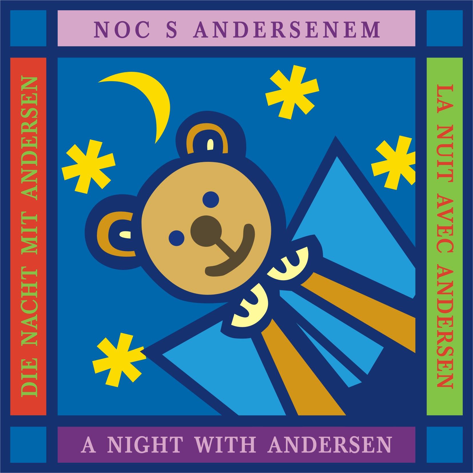 Logo Noc s Andersenem.