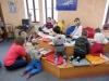 Obrázek dětí z MŠ Sluníčko v knihovně.