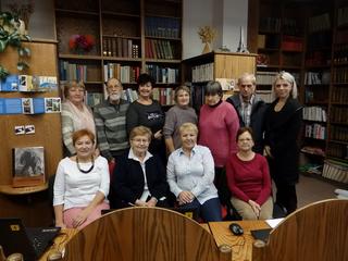 Společná fotka účastníků počítačového kurzu.